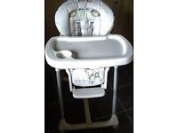 MAMAS & PAPAS Crumble the Bear High Chair - £10
