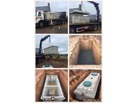 Concrete Package Wastewater Treatment Tanks 99% BOD