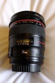 Canon 24mm 1.2L II Lens