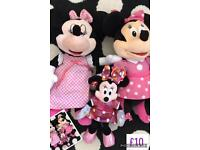 3 x Minnie Mouse toys