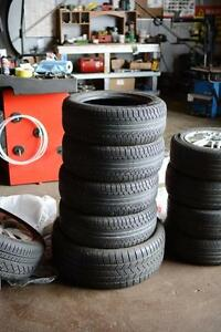 205/55R16 Pirelli P7 all season set : USED