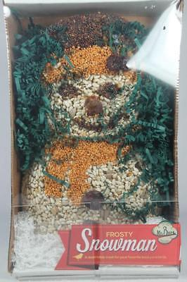 Frosty Snowmam Bird Seed Feeder By Mr. Seed NEW in Box!