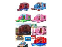 Brand New Commercial Bouncy Castles with certificates