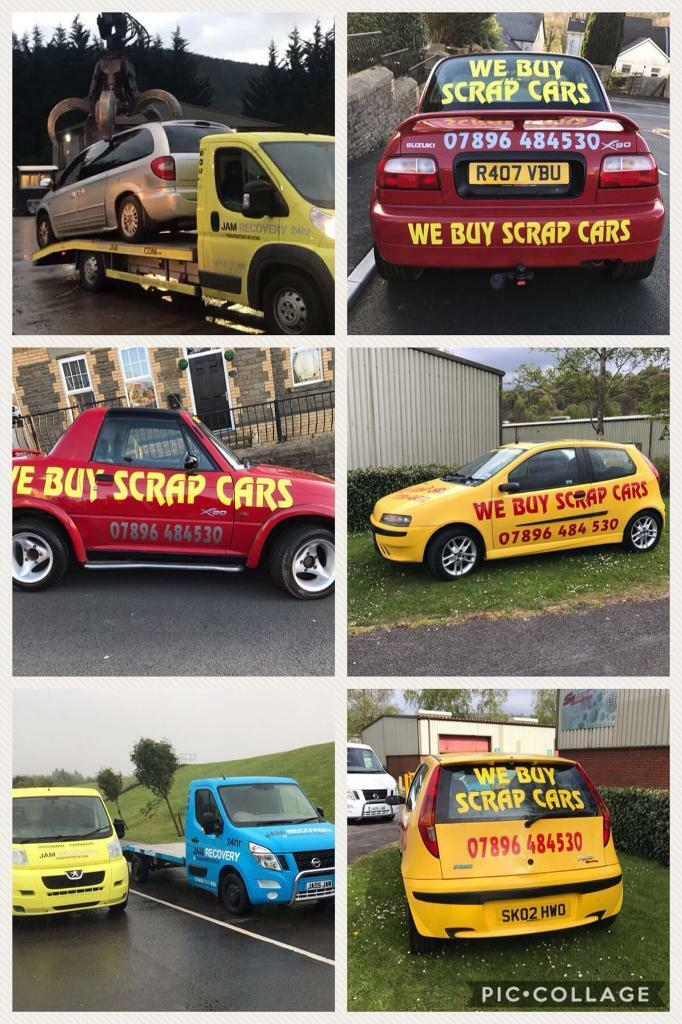 WE BUY SCRAP CARS AND VANS!! Vauxhall, Renault, Peugeot, Nissan ...
