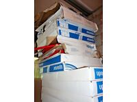 Underfloor heating pipe and sheets Large quantity of Uponor Minitec surplus lot Save £££s