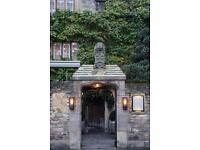 Receptionist, Old Parsonage Hotel (£18k per annum / 40 hours per week)