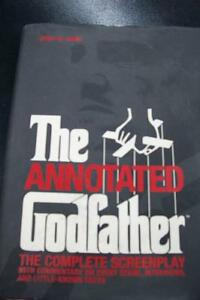 The Annotated GODFATHER- hardcover screenplay w/ commentary, etc