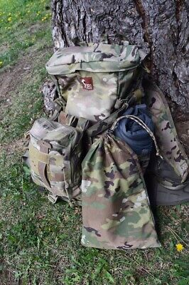 LIVESOUTSIDE DWR OCP Camo Stuff Sack Hyperlight Bag Large Breathable Medium Duty](Camo Stuff)