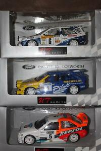 1/18 DIECAST UT FORD ESCORT COSWORTHS WRC/RALLY MANY