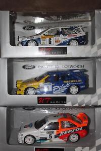 1/18 DIECAST UT FORD ESCORT COSWORTHS WRC/RALLY MANY