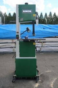 RIKON 14 In. Deluxe Band Saw W/ Rolling Stand