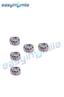 1box Easyinsmile Dental Kid Upper Premolar Right Crown Stainless Steel Temporary
