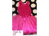 Girls Popatu tutu dress 2y