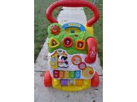 Vtec first steps baby walker entertainment toy
