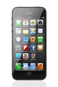IPHONE 5 32GB UNLOCKED / DEBLOQUE APPLE 100% EN TRES BONNE CONDITION FIDO ROGERS TELUS BELL CHATR VIRGIN MOBILE KOODO+++