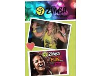 Zumba ® Fitness classes in Dorsey, Crossmaglen, Newry and Dundalk