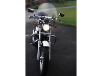 Honda VT750 – mint condition, with a genuine 601 miles