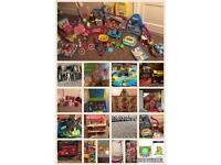 Lots of toys/games