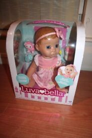 Luvabella Blonde Doll Sold out everywhere price reduced.