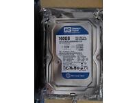 """Hard drive WESTERN DIGITAL WD1600AAJB 160GB 7.2K 3.5"""" IDE ATA-100 HDD (NOT SATA)"""