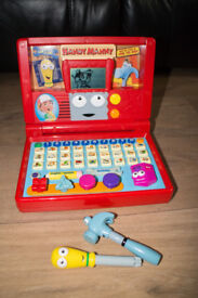 Handy Manny VTec Interactive Laptop Learning Computer