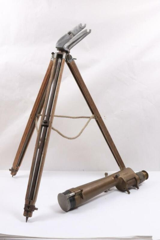 WWII W&LE Gurley *US Army* Azimuth Telescope M1910A1 *1942* with Tripod