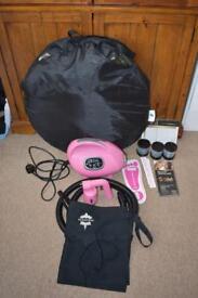 Spray tanning machine / kit