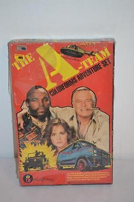 Vintage 1983 The A Team Colorforms Adventure Set   NEW IN BOX