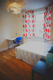 Master size double bedroom ready now for couples. Stratford station. Must see!!