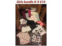Age 8-9 girls bundle of clothes