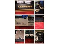 Size 2 infant navy converse. BRAND NEW.