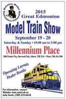 The Great Edmonton Model Train Show