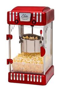 NEW Maxi-Matic EPM-250 Elite Tabletop Retro-Style 2-1/2-Ounce Kettle Popcorn Popper Machine