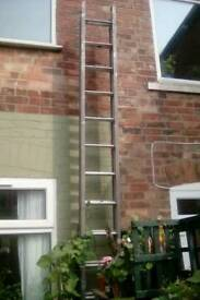 Tradesman class one double 18'/5.4 Mrs aluminium ladders