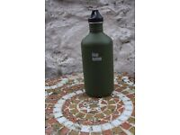 Klean Kanteen Wide Stainless Steel Bottle, 40 oz dark green