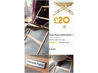 Mamas & Papas Moses Basket Deluxe Stand