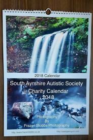 2018 Charity Calendar in aid of South Ayrshire Autistic Society