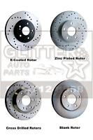 Drilled & OE type Brake Rotor Pad Drum Shoe Bearing Hub Assembly