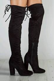 Womens over the knee boots size 6