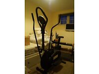 Gym Master exercise bike/cross trainer hybrid