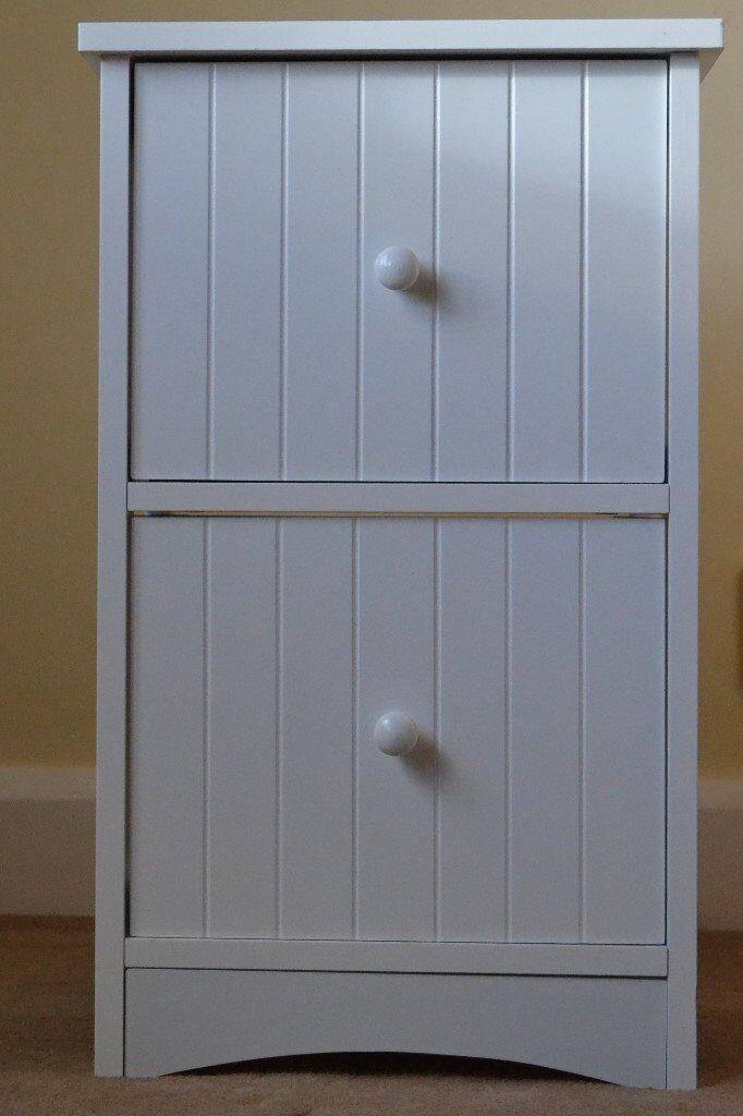 Small 2 drawer bathroom unit