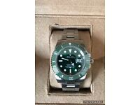 Rolex submariner hulk GREEN 40mm luxury automatic diver watch brand new in Swiss WAVE BOX STUNNING