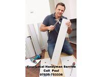 Handyman Service -Herts-Beds-Bucks Call Paul