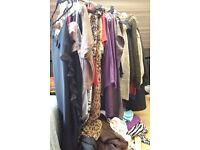 Large bundle of ladies clothing