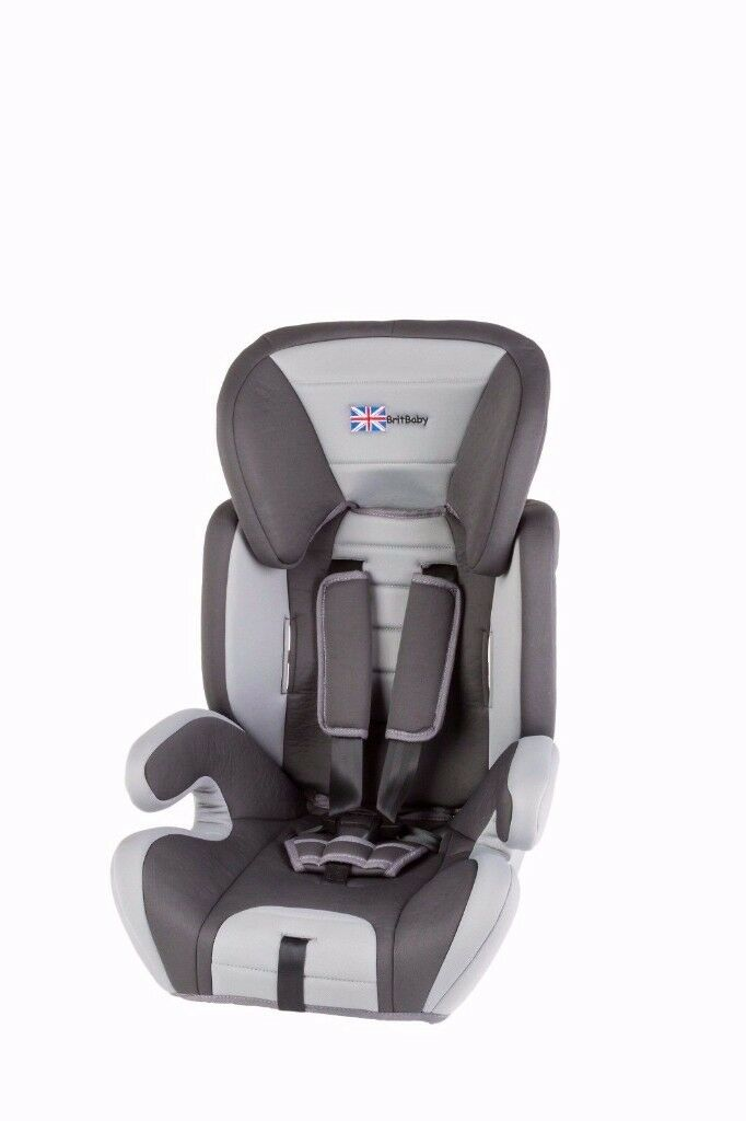 BRITBABY SERIES 400 Group 1/2/3 CAR SEAT, 9 months to 11 yrs (9-36kgs) Graphite