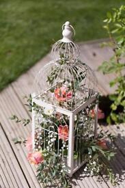 Bird cages wedding decor