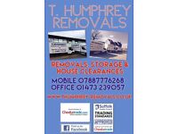 Removals storage and houseclearances