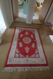 Red Chinese-Style Rug