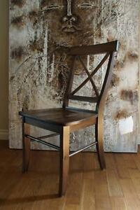 Solid Wood Side Chairs, Bar Stools and Benches. By LIKEN Woodworks