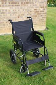 Deluxe Transit Wheelchair